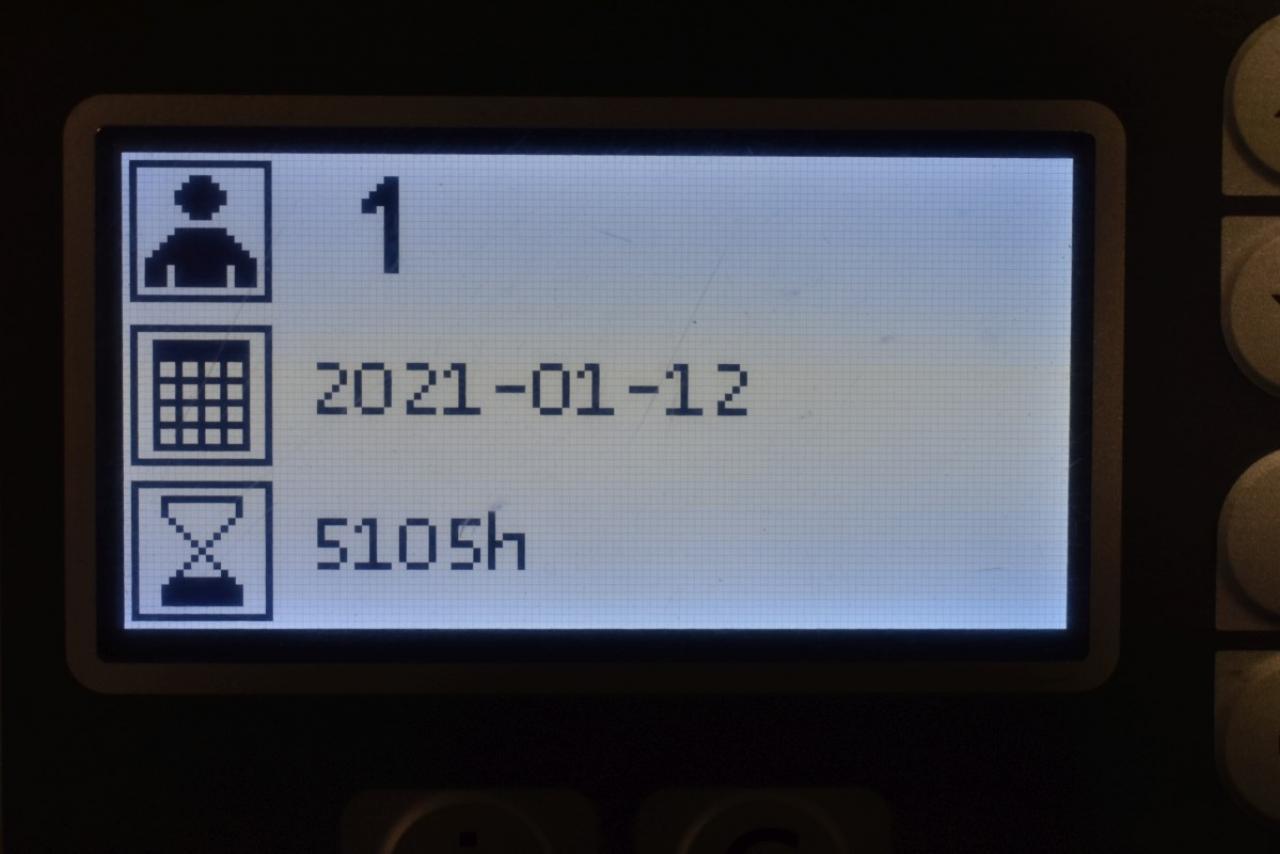 34170 BT RRE 200 - AKU, Retrak, 2016, BP, Volný zdvih, Triplex, pouze 5105 mth