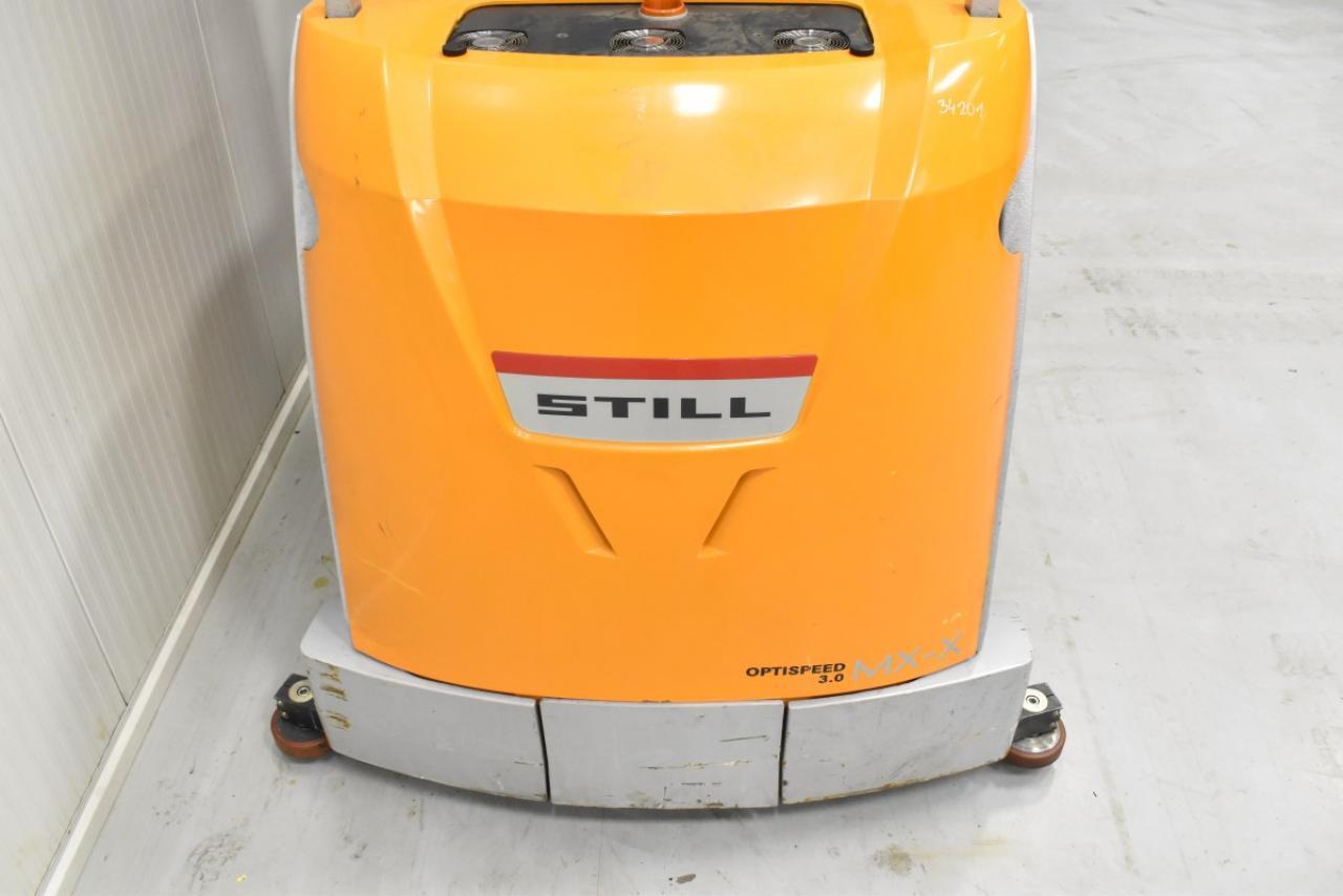 34201 STILL MX-X TR - Battery, 2009, Free lift, TRIPLEX, only 6344 hrs, BATT 2018