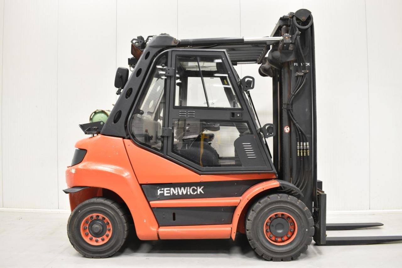 34215 LINDE H 60 T-01 - LPG, 2012, Kabina