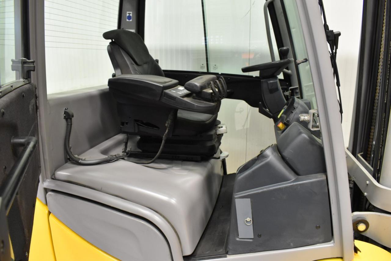 34263 JUNGHEINRICH DFG 435 S - Diesel, 2017, Kabina, BP, Volný zdvih, Triplex