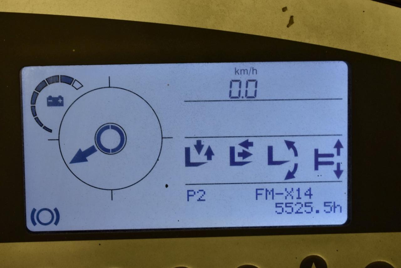 34320 STILL FM-X 14 - AKU, Retrak, 2011, BP, Volný zdvih, Triplex, pouze 5525 mth