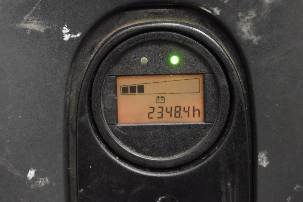 34355 LINDE L 10 B - AKU, 2009, pouze 2348 mth