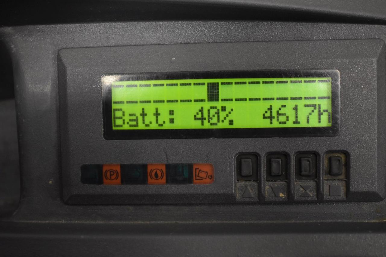34484 JUNGHEINRICH ESD 120 - Battery, 2015, initial lift, only 4617 hrs