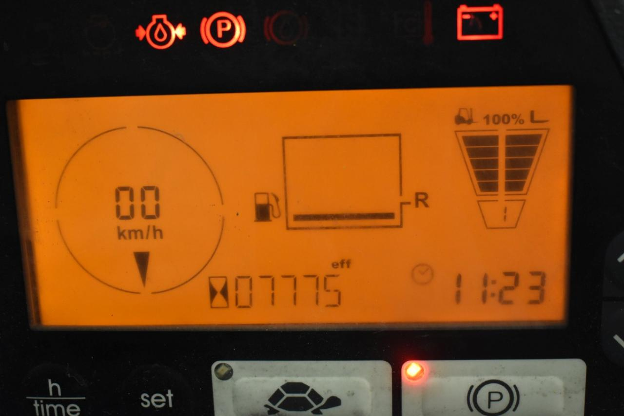 34494 JUNGHEINRICH TFG 435 S - LPG, 2013, Cabin, SS, Free lift, TRIPLEX