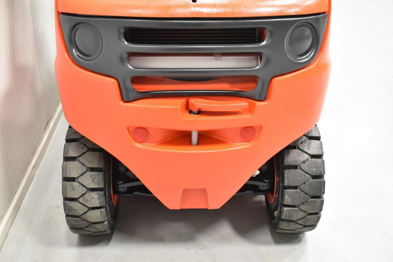 34519 LINDE H 35 D  - Diesel, 2008, polokabina, BP, Volný zdvih, Triplex