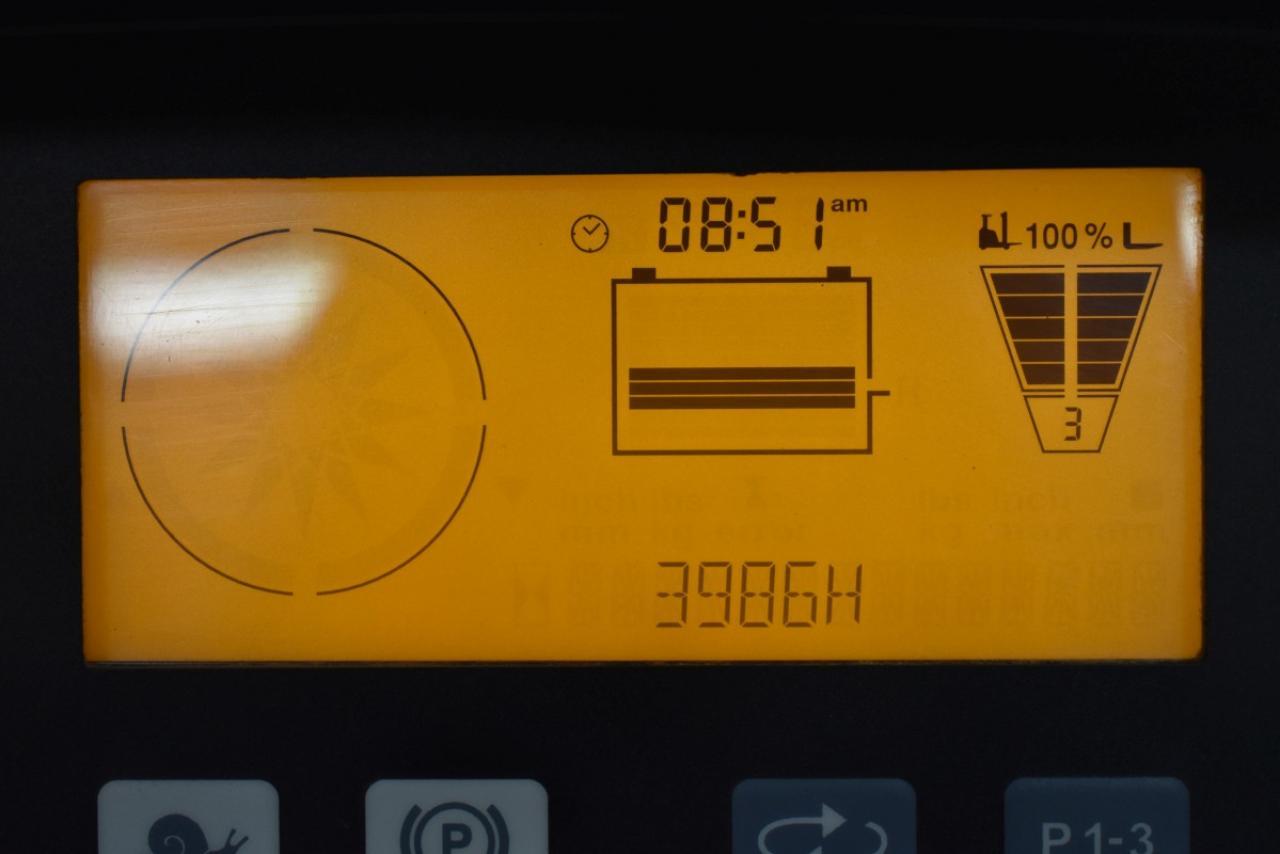 34569 JUNGHEINRICH ETV 114 - AKU, Retrak, 2011, BP, Volný zdvih, Triplex, pouze 3986 mth