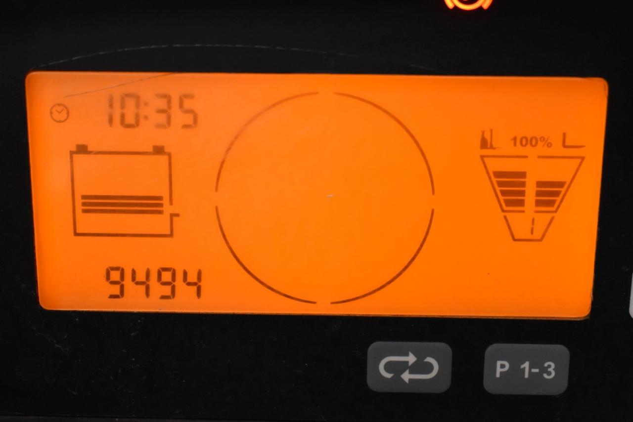 34582 JUNGHEINRICH ETV 216 - AKU, Retrak, 2012, BP, Volný zdvih, Triplex