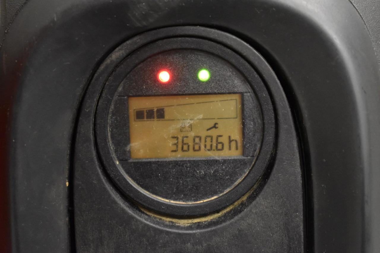 34649 LINDE T 16 L - AKU, 2015, přízdvih, pouze 3680 mth
