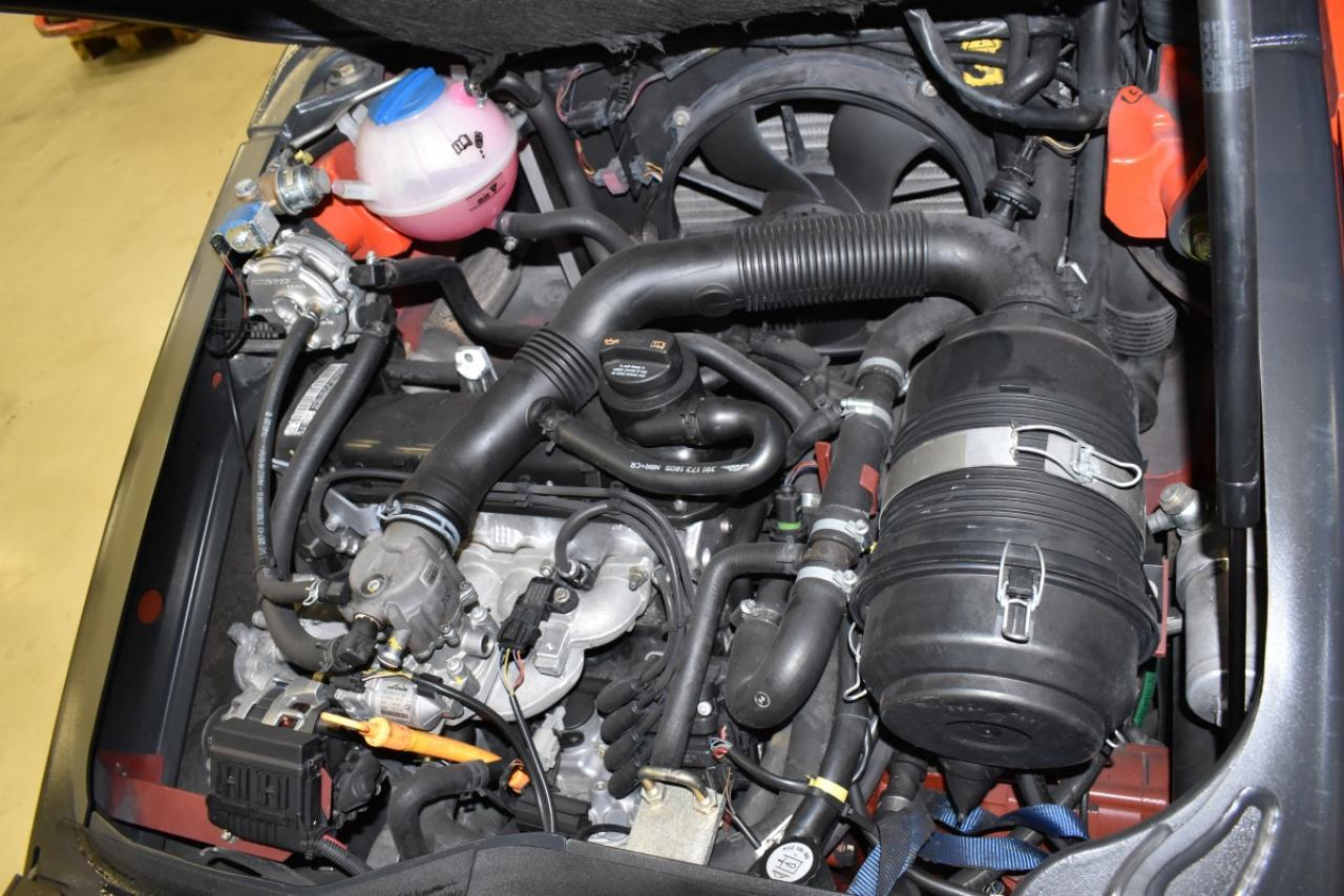 34661 LINDE H 20 T-01 - LPG, 2012, Kabina, BP+HSV, Volný zdvih, Triplex