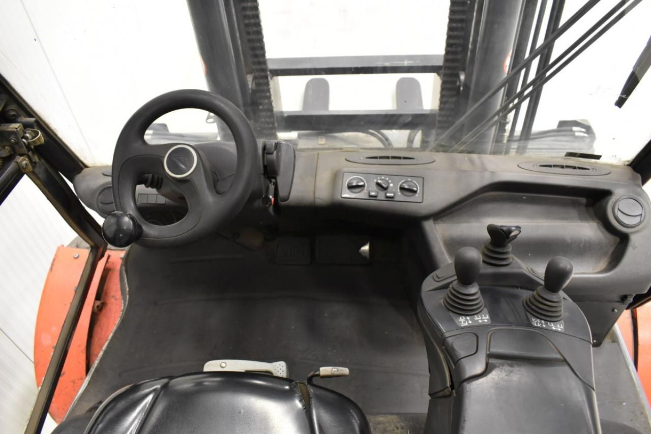 34671 LINDE H 80 D-02/900 - Diesel, 2013, Kabina, BP+HSV