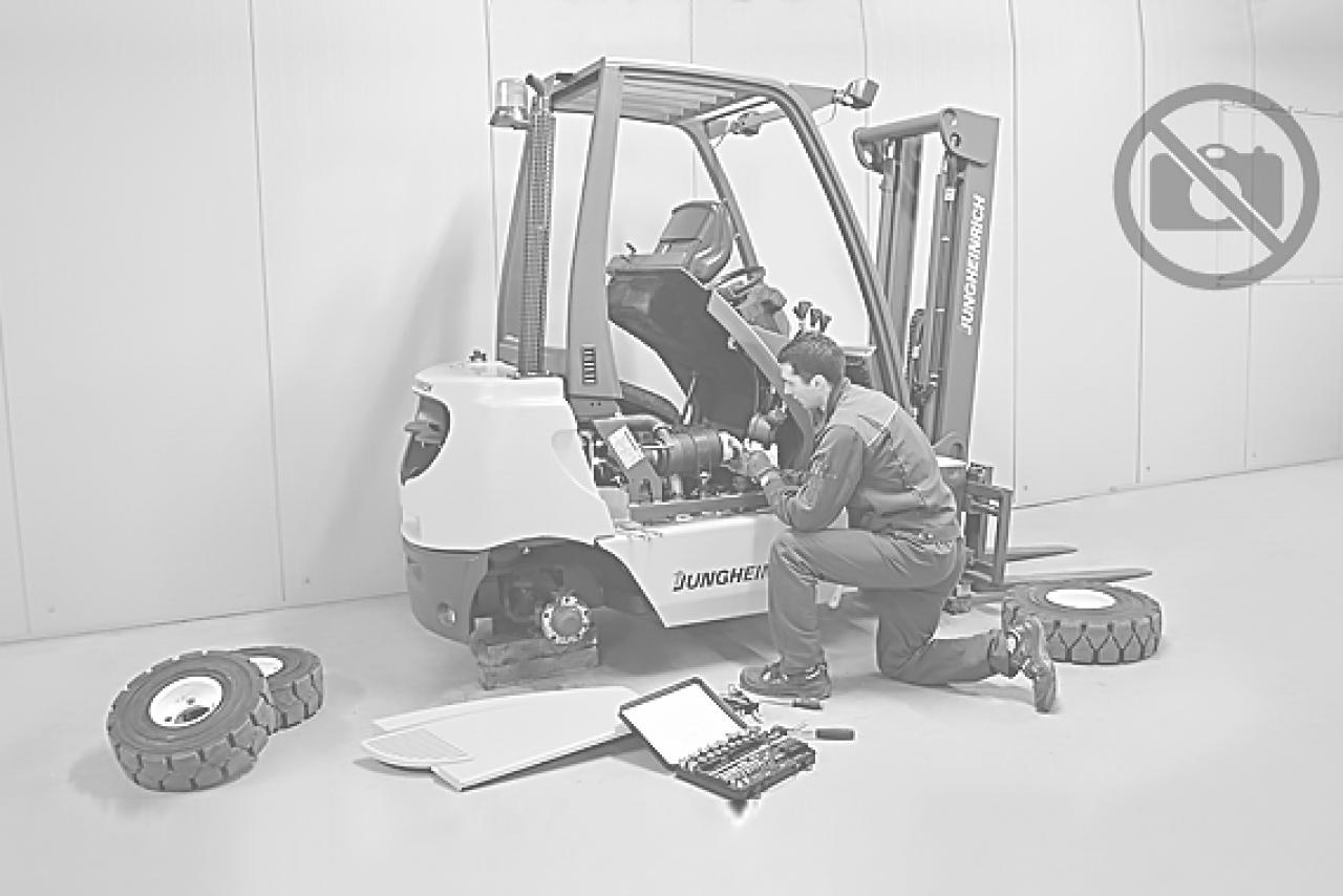 34710 CESAB MAK 500 - AKU, 2001, BP, pouze 5459 mth