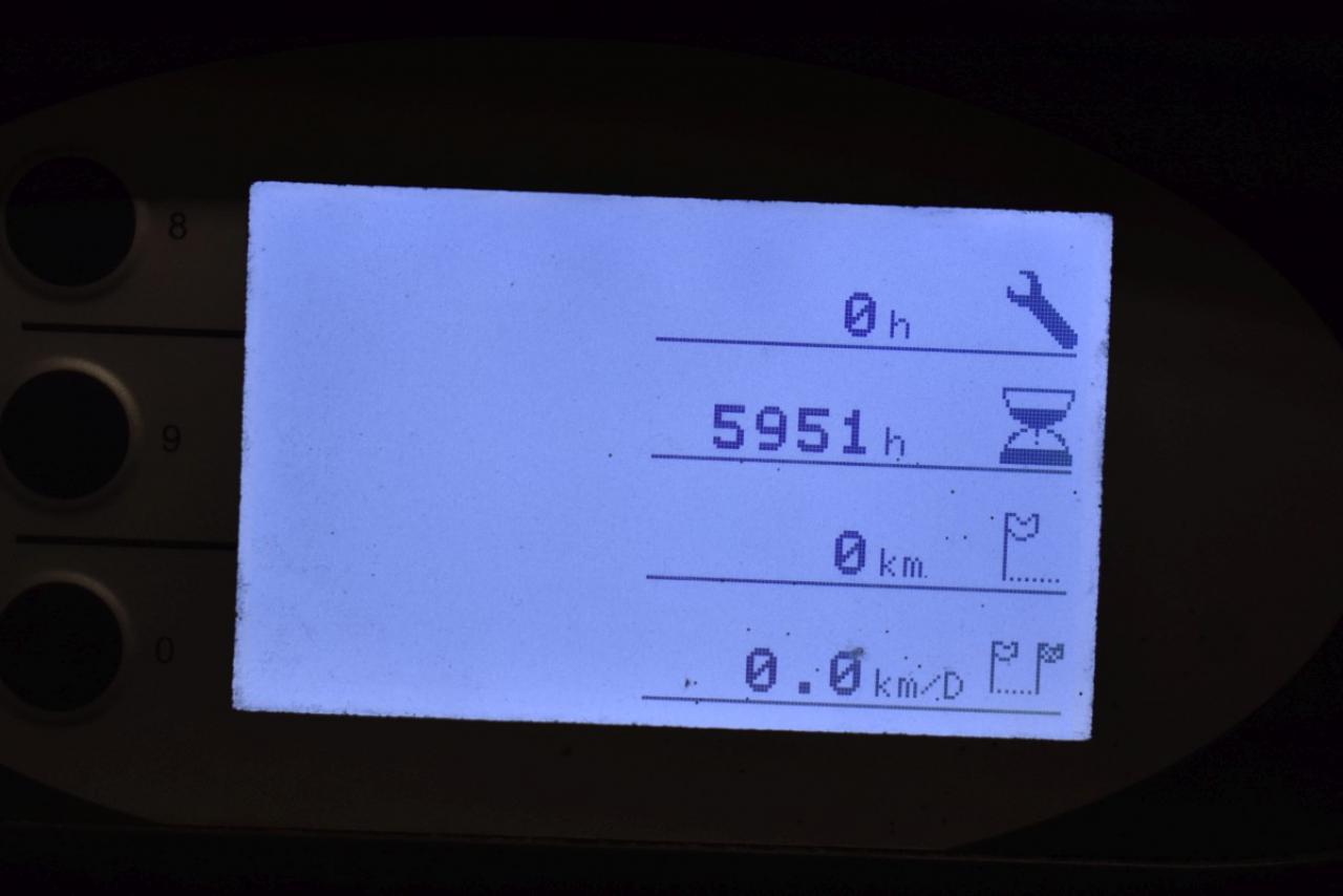 34787 STILL RX 20-16 P - AKU, 2014, BP, Volný zdvih, Triplex, pouze 5948 mth