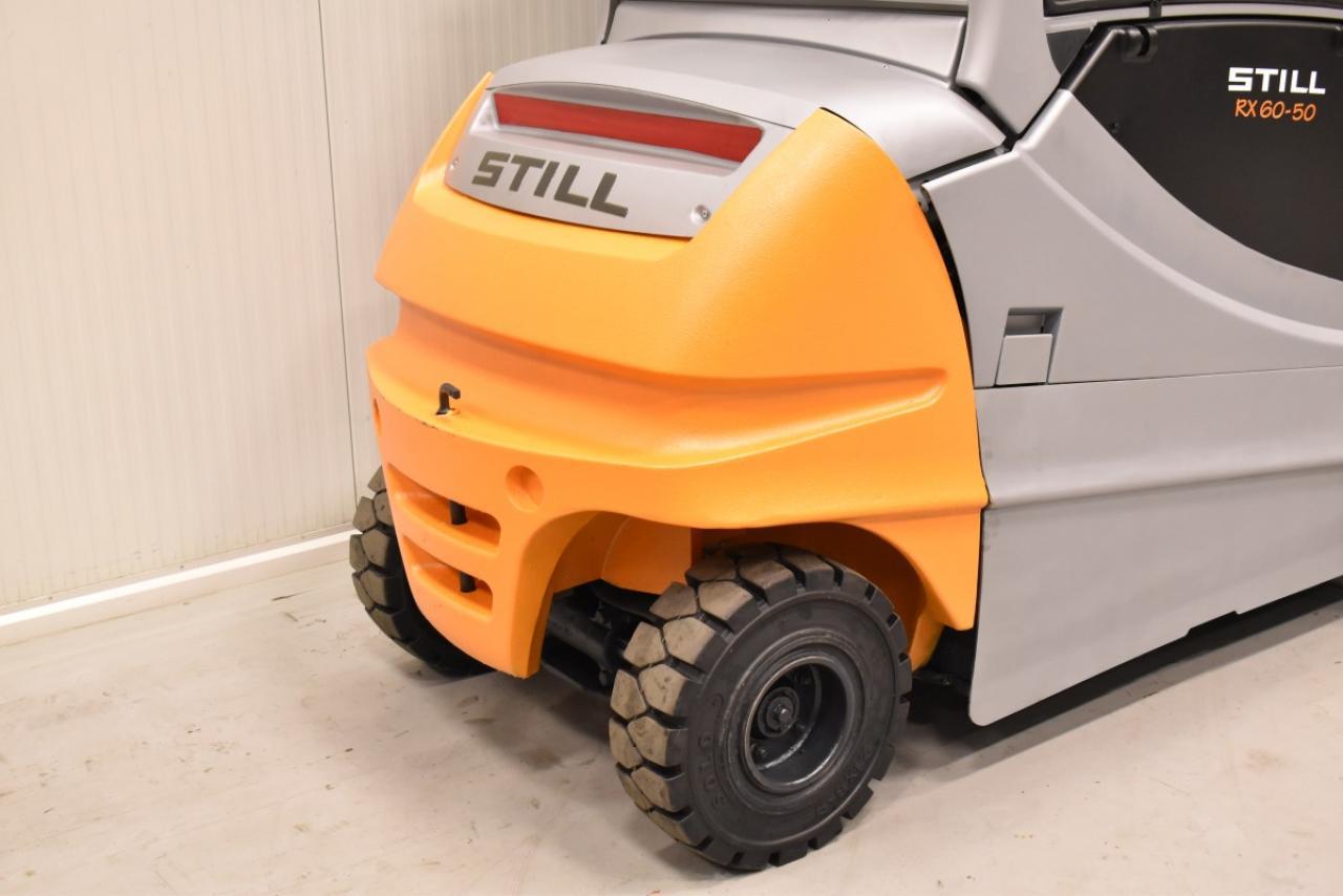 34800 STILL RX 60-50/600 - Battery, 2015, Cabin, SS+FP
