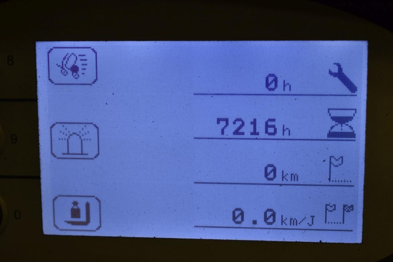 34989 STILL RX 20-16 - Battery, 2015, SS, Free lift, only 7214 hrs, BATT 2017