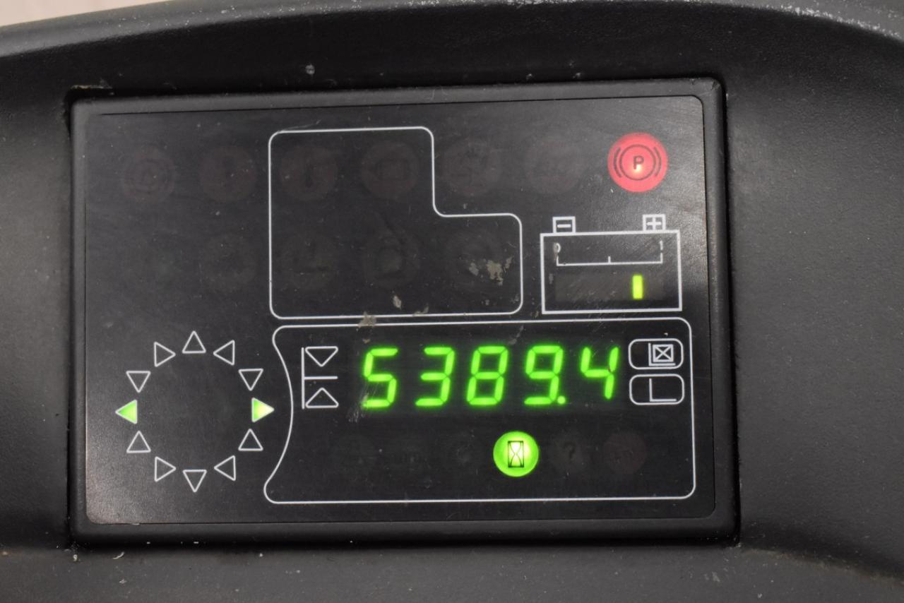 35081 LINDE R 14 - AKU, Retrak, 2002, BP, Volný zdvih, Triplex, pouze 5389 mth, BAT 2011