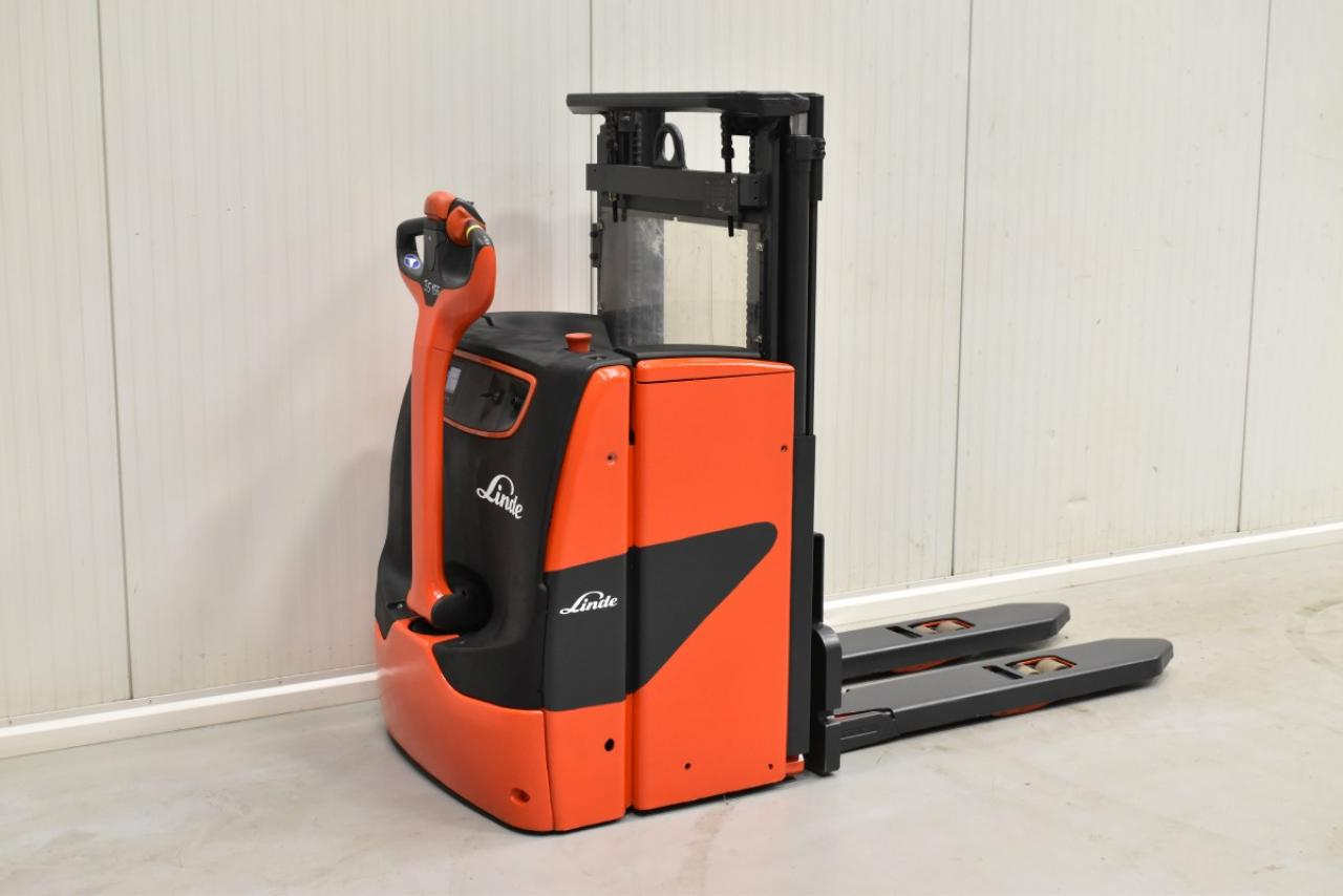 35155 LINDE L 16 - Battery, 2015, initial lift, only 3799 hrs
