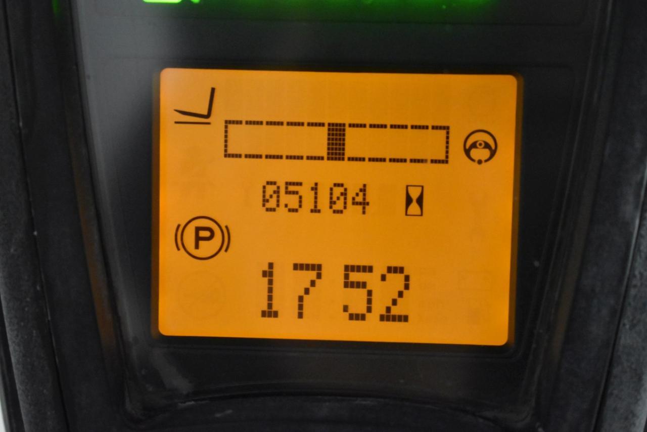 35187 LINDE E 16 P - AKU, 2014, polokabina, BP, Volný zdvih, Triplex, pouze 5104 mth, BAT 2018