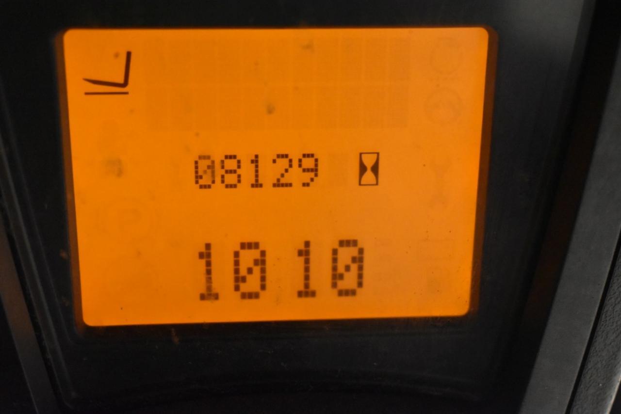35190 LINDE E 16 - Battery, 2013, SS, Free lift, TRIPLEX