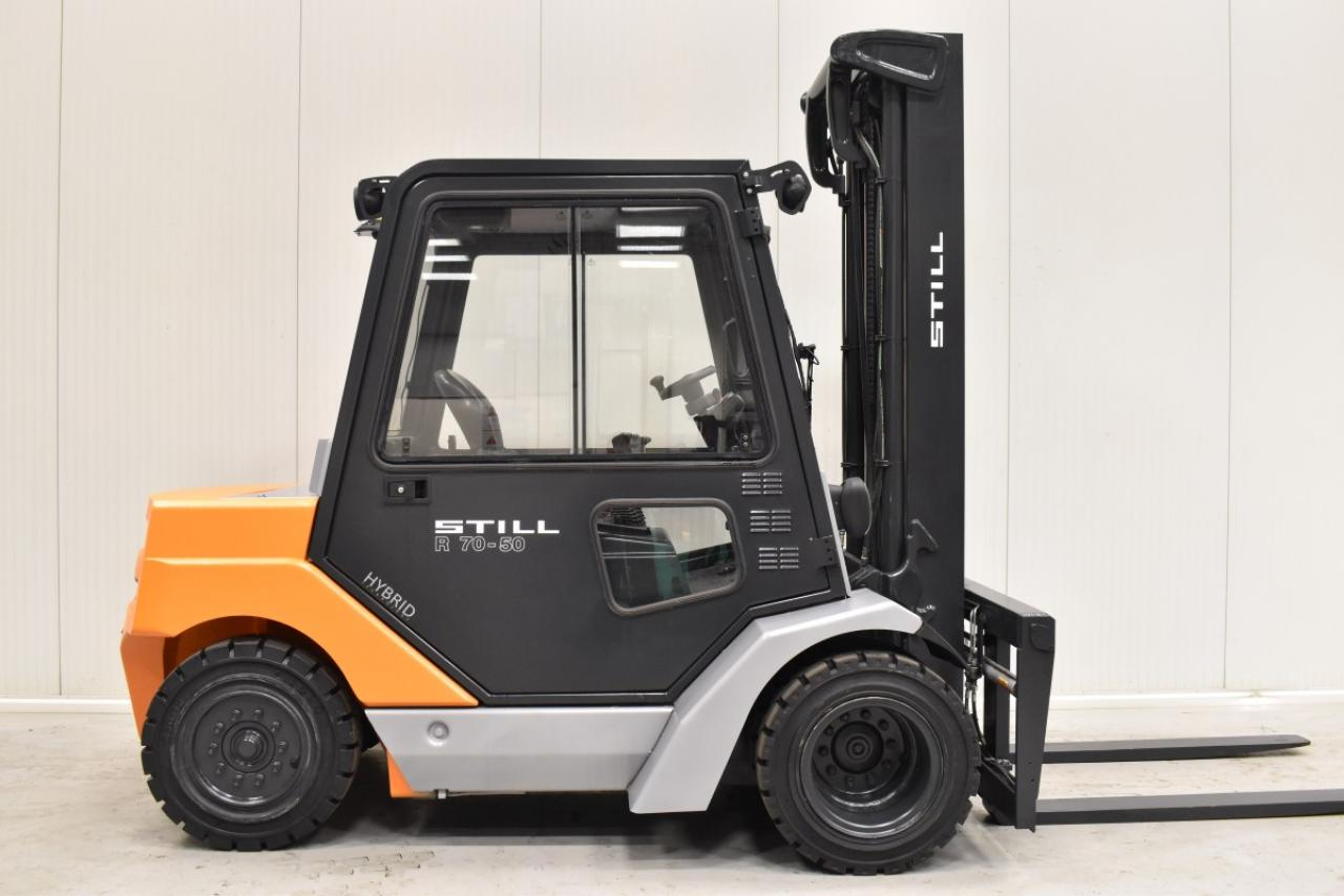 35243 STILL R 70-50 - Diesel, 2012, Kabina, BP+HSV, Volný zdvih, Triplex