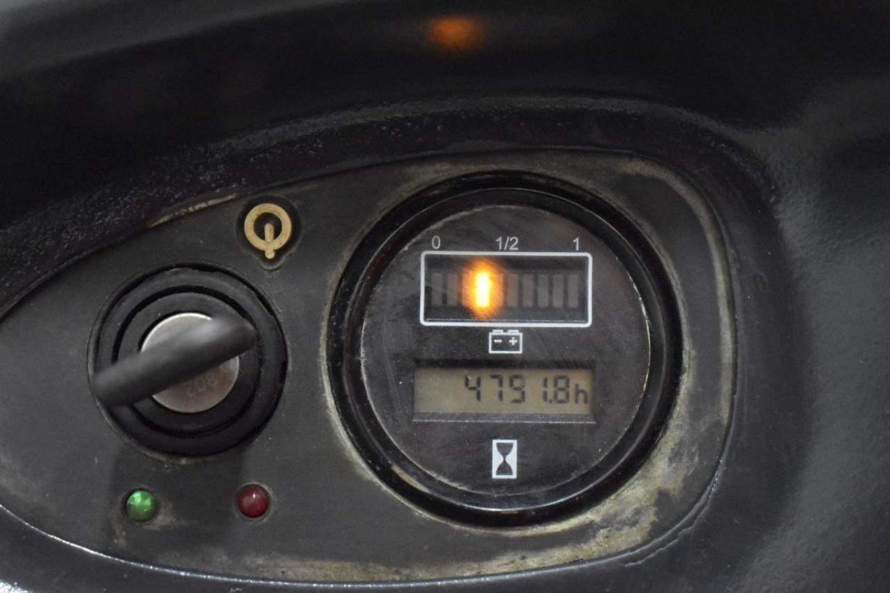 35249 LINDE L 14 LI - Battery, 2012, Free lift + initial lift, TRIPLEX, only 4791 hrs