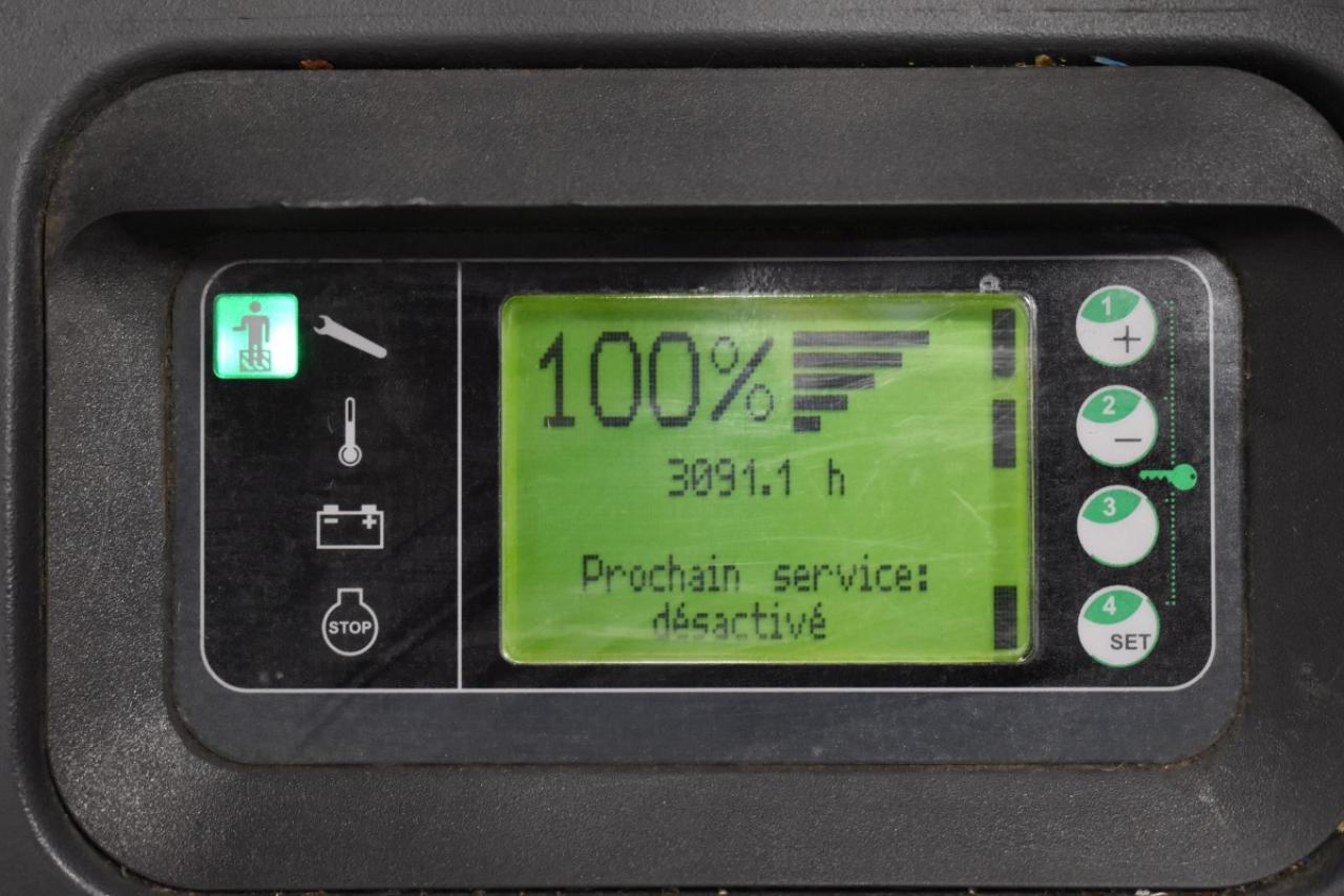 35267 LINDE L 14 LSP - AKU, 2012, přízdvih, pouze 3091 mth
