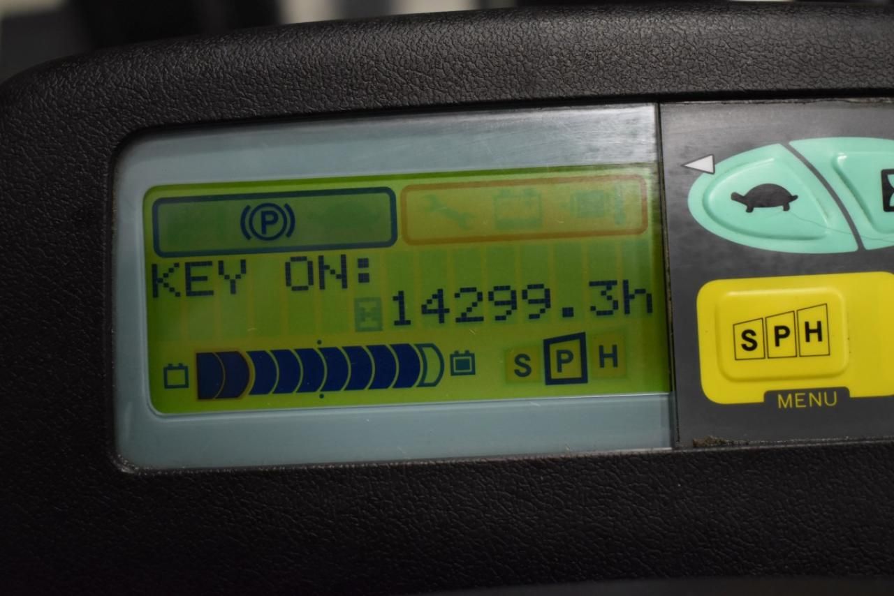 35392 TOYOTA 7FBMF30 - Battery, 2008, Cabin, SS+FP, Free lift, only 6384 hrs