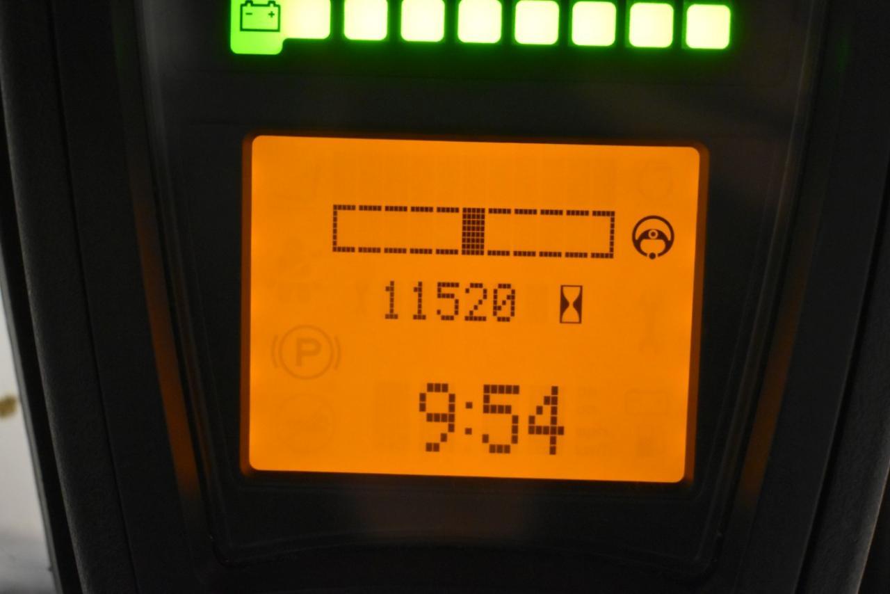 35570 LINDE E 16 P-02 - AKU, 2015, Kabina, BP, Volný zdvih, Triplex