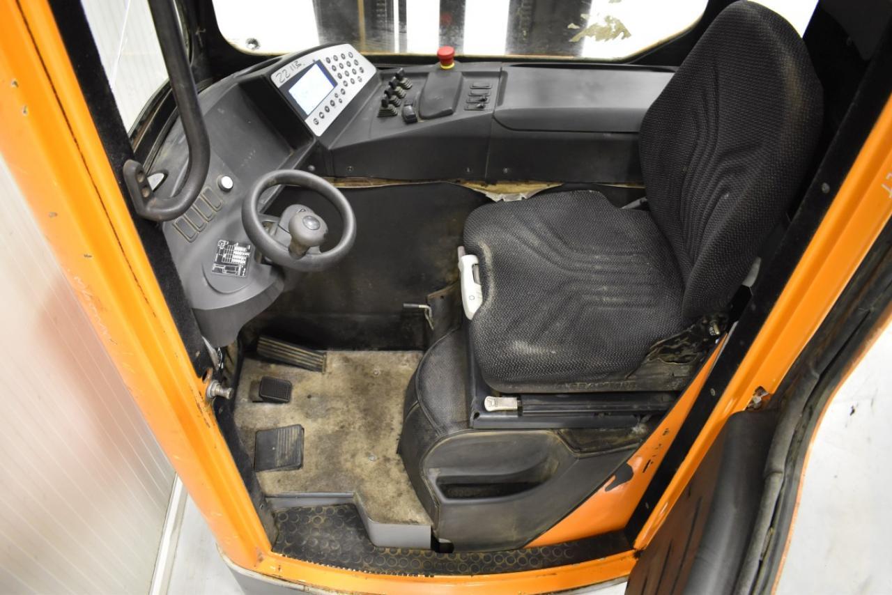 35928 STILL FM-X 14 - AKU, Retrak, 2011, Kabina, BP, Cold-store, Volný zdvih, Triplex
