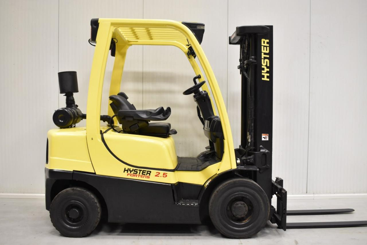 36296 HYSTER H 2.5 FT - Diesel, 2012, BP, Volný zdvih, Triplex