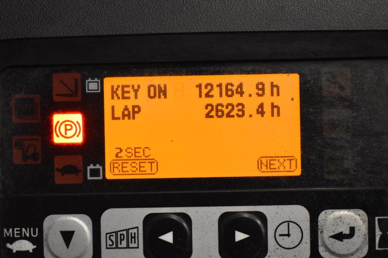 36361 TOYOTA 8FBMT16 - AKU, 2015, BP+HSV, Volný zdvih, pouze 7019 mth