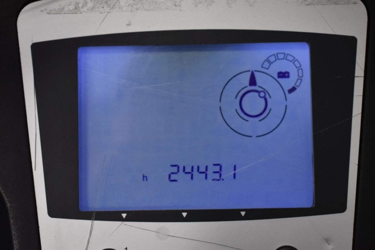 36371 STILL EK-X - AKU, 2014, Volný zdvih, Triplex, pouze 2443 mth