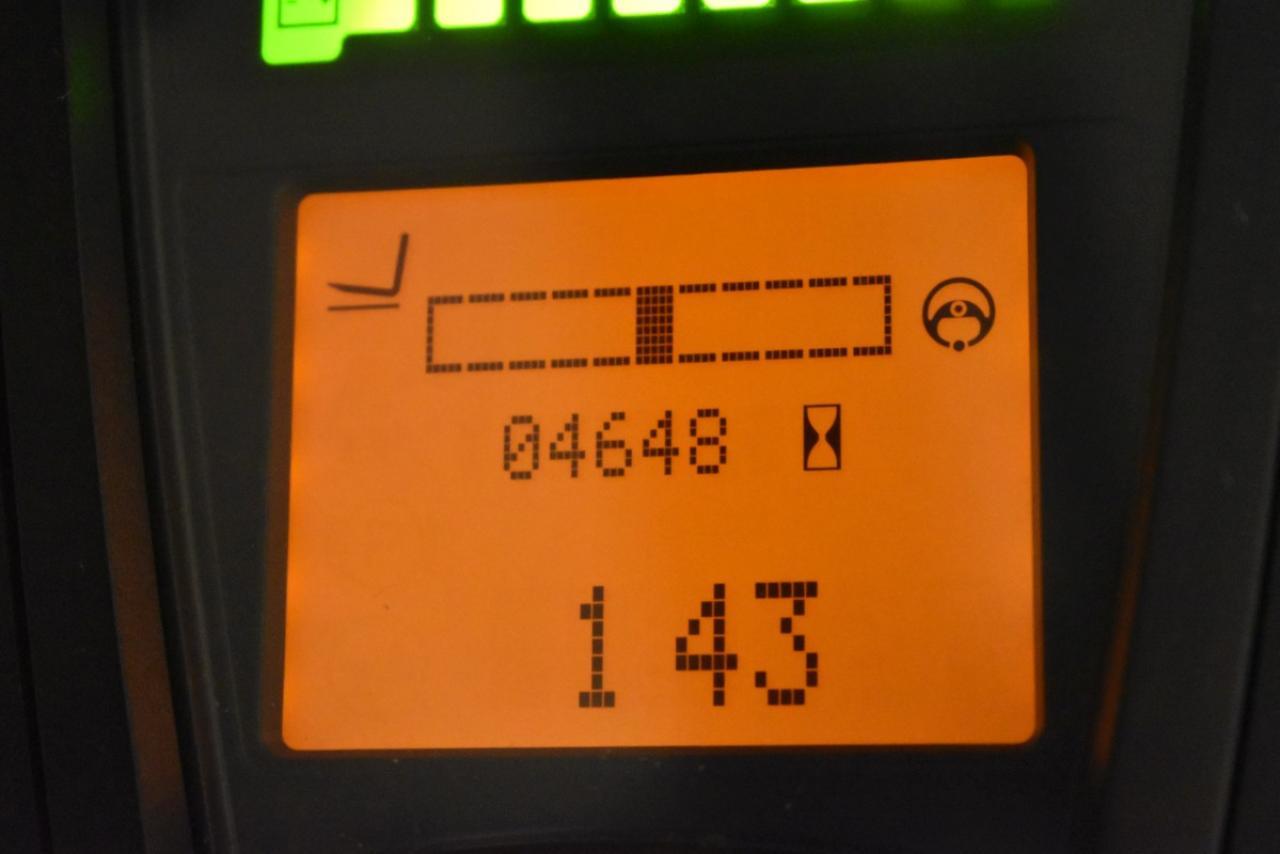 36510 LINDE E 25 HL /600-01 - AKU, 2014, Kabina, BP+HSV, pouze 4646 mth