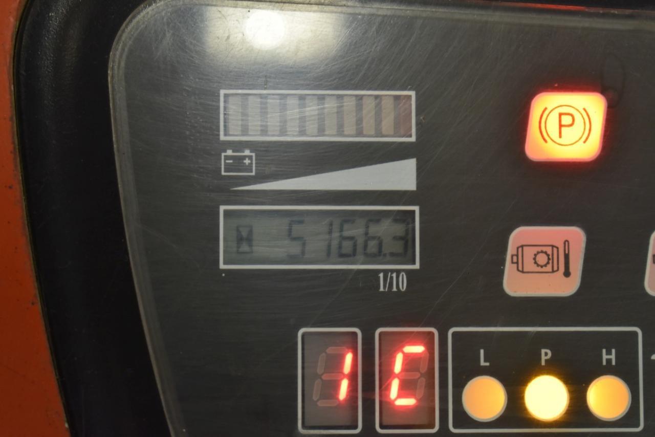 V34432 BT CBE 20 T - Battery, 2005, SS, Free lift, TRIPLEX, only 5166 hrs