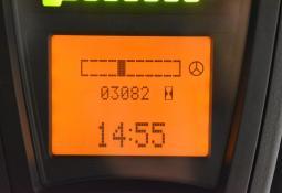 LINDE E 18-00 - AKU, 2007, polokabina, BP, volný zdvih, Triplex, pouze 3079 mth