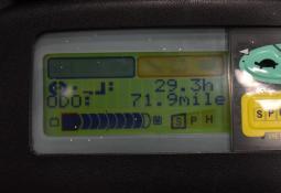 TOYOTA 7FBEF15 - AKU, 2003, BP, volný zdvih, Triplex