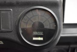 LINDE E 18 C-02 - AKU, 2006, BP, volný zdvih, pouze 5750 mth