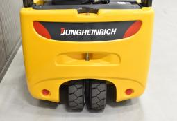 JUNGHEINRICH EFG 216 K - Battery, 2008, SS, free lift, TRIPLEX, only 2198 hrs