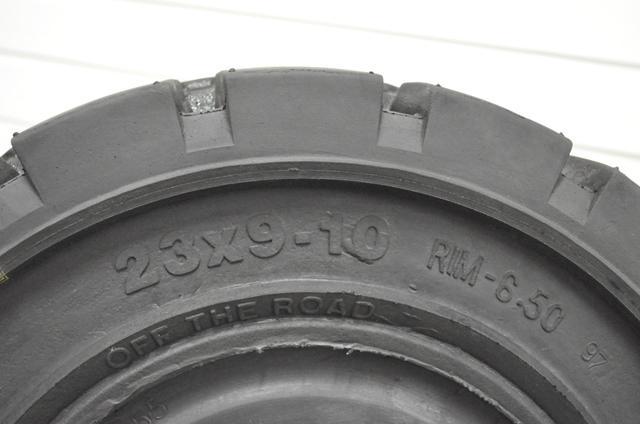 Pneumatika 23X9-10; CBX 6.50E D
